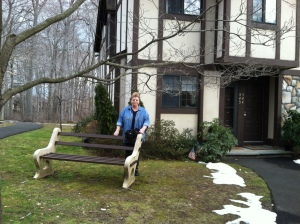 Tina and her new Foxwood Condo