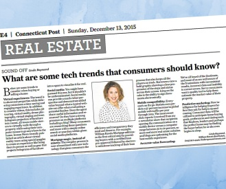 CT Post - Real Estate Tech Trends Dec 2015