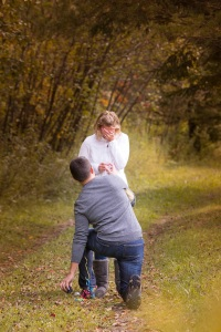 Couple gets engaged
